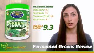 Fermented Greens Superfood Review – SuperFoodDrinks.org
